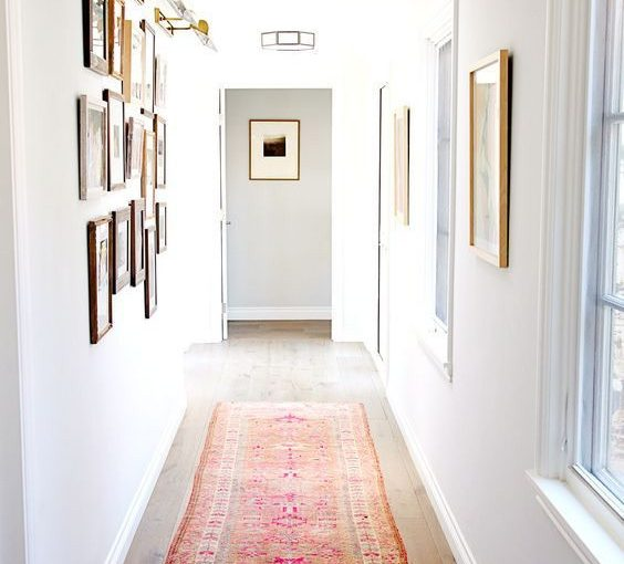 How to Decorate a Boring Hallway