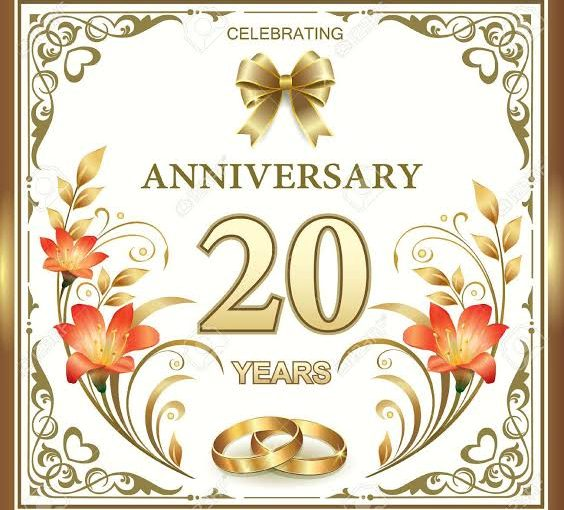 How to Celebrating the 20th Wedding Anniversary